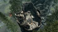 Башня Баннермист с высоты птичьего полёта