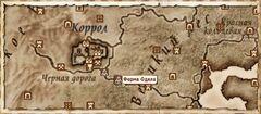 Ферма Одила (Карта)