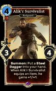 Alik'r Survivalist