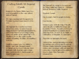 Crafting Motif 10: Imperial Style