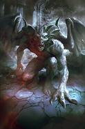 Gargoyle card art