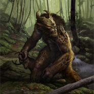 Lowland Troll card art