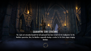 Quarantine Serk Catacombs load screen