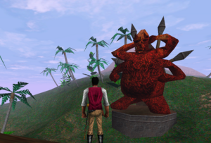 Redguard - Statue of Morwha