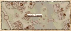 Дом Райта Литандаса. Карта
