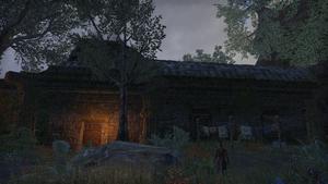Здание в деревне Мёртвой-Воды 3