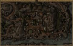 Пещерное поселение. Карта