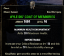 Ayleids' Coat of Memories