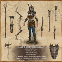 Hanu's Compassion light set - Elder Scrolls Online