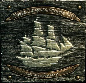 Insegna della Compagnia dell'Impero Orientale
