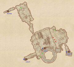 Пещера Андерпалл. План