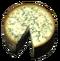 Початый круг Эйдарского сыра