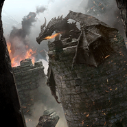Alduin alternate card art