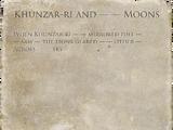 Khunzar-ri and — — Moons