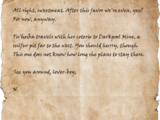 Letter to Jakarn