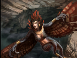Skrzecząca harpia