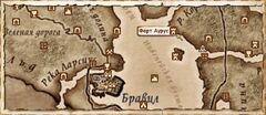 Форт Аурус (Карта)