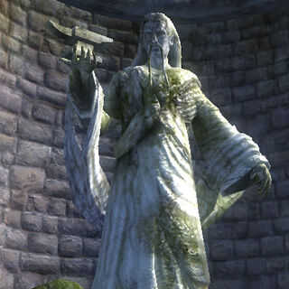 Posąg Zenithara z gry The Elder Scrolls IV: Oblivion