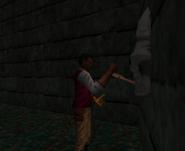 Redguard - Retrieve N'Gasta's Amulet - N'Gasta's Island Necropolis Skull Lever