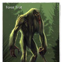 Grafika koncepcyjna trolla