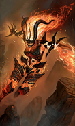 Flame Atronach card art