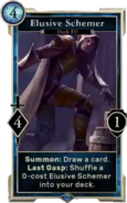 Elusive Schemer (Legends) DWD