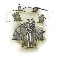 Graveyard Concept Art