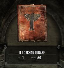 Il Lorkhan Lunare copertina