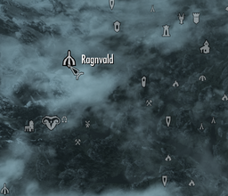 Ragnvald Dungeon - Overland Map