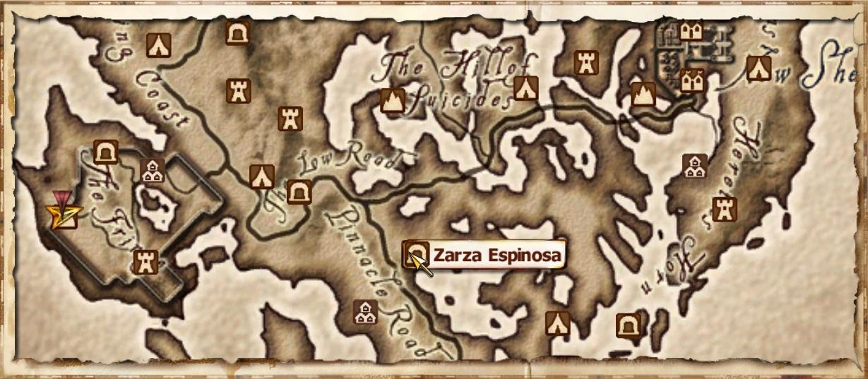 Zarza espinosa elder scrolls fandom powered by wikia mapa gumiabroncs Image collections