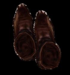 Туфли из оленьей кожи