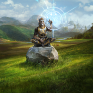 Mystic of Ancient Rites card art