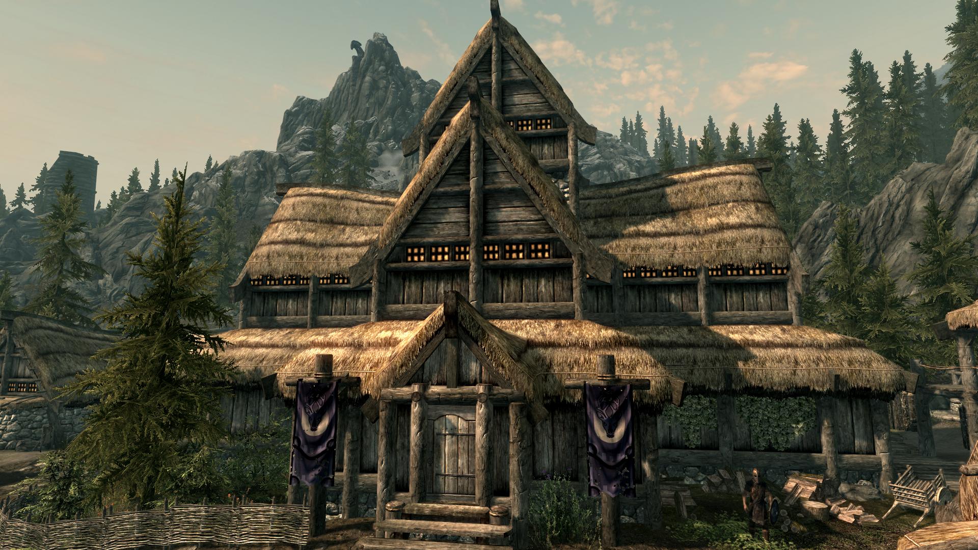 Jarl 39 S Longhouse Falkreath Elder Scrolls Fandom