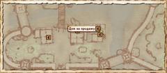 Дом на продажу Бравил. Карта