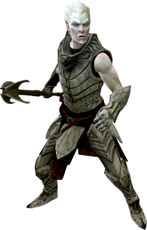 Рыцарь-паладин Гелебор (в режиме боя)