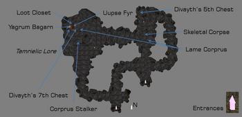 Corprusarium Bowels Map