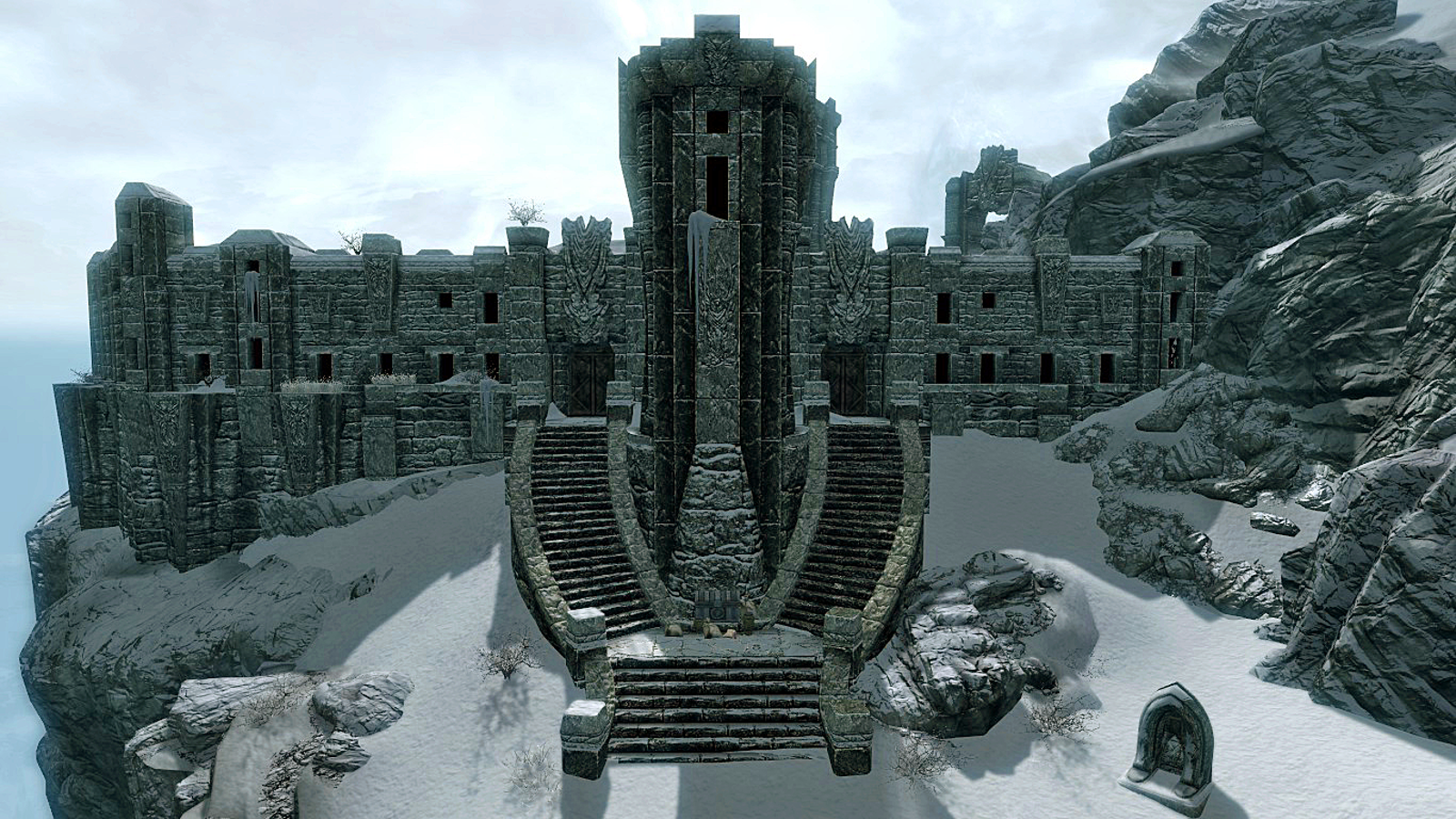 graphic about Printable Skyrim Map named Substantial Hrothgar (Skyrim) Elder Scrolls FANDOM run via Wikia