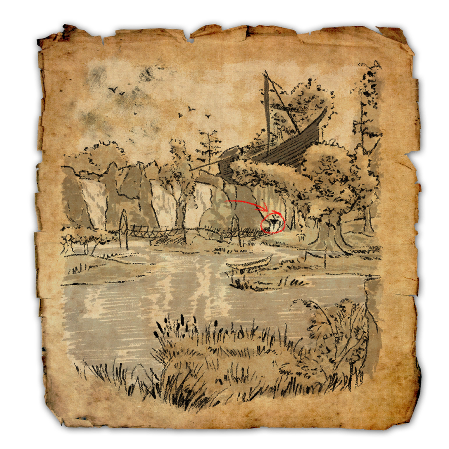 Murkmire Treasure Map I | Elder Scrolls | FANDOM powered by