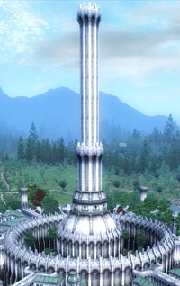 White gold tower2