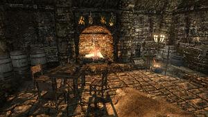 Дом Ромлина Дрета - очаг