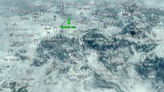Инеевый маяк карта