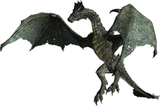 Кровавый дракон в полёте
