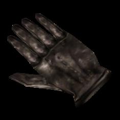 Чёрные перчатки