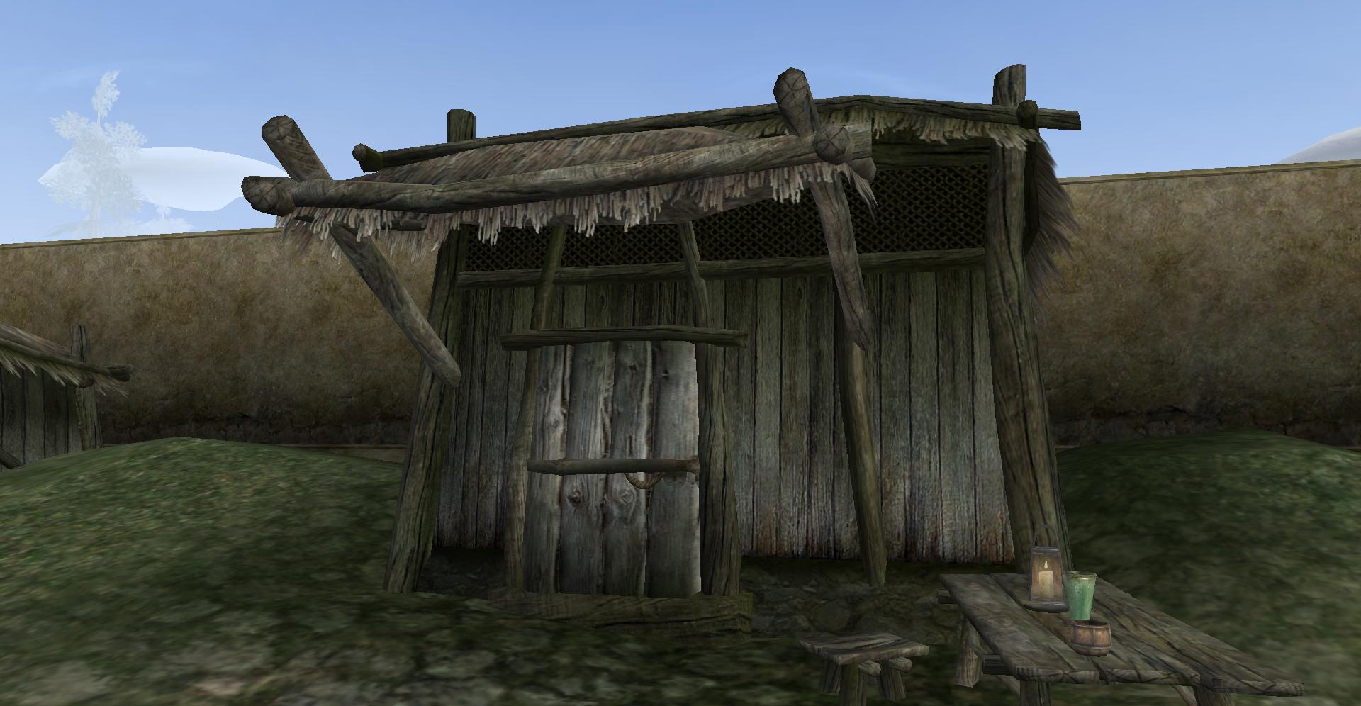 Dren Plantation, Storage Shack