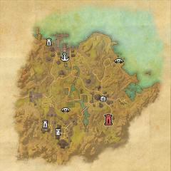 Бал Фойен-Дорожное святилище Далморы-Карта