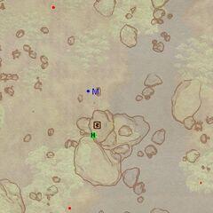 Топь Красной Воды (экстерьер). План