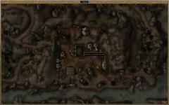 Хижина Шэнда. Карта