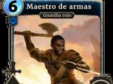 Maestro de armas
