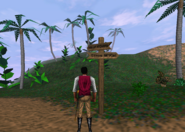 Redguard - Retrieve N'Gasta's Amulet - Signpost