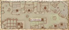 Дом РаДжахирра. Карта